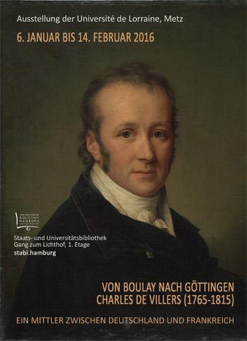 Von Boulay nach Göttingen. Charles de Villers (1765-1815)