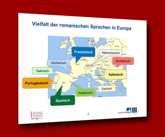 Vielfalt der Romanischen Sprachen in Europa