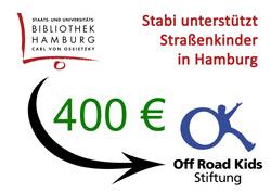 Stabi unterstützt Off Road Kids Hamburg