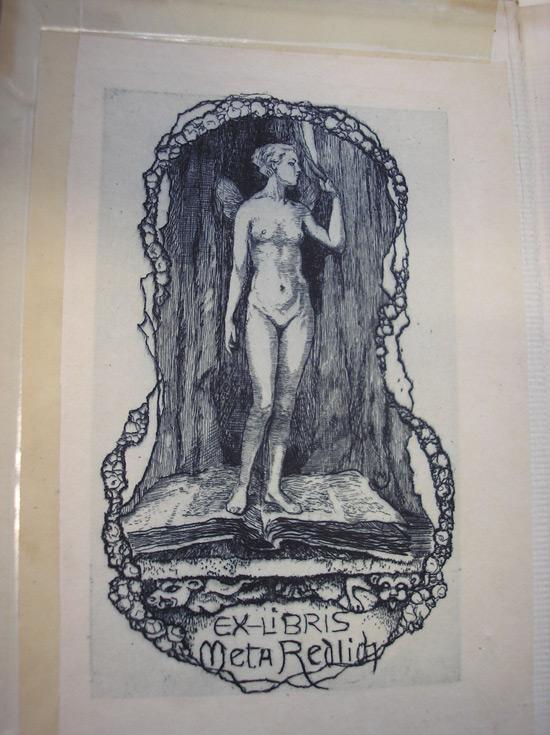 Exlibris von Meta Redlich