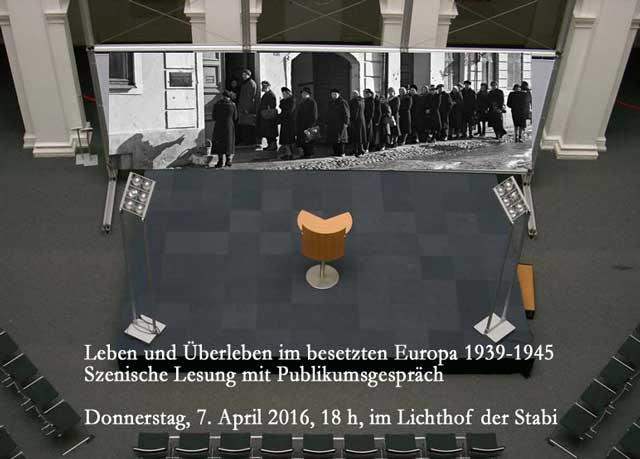 Leben und Überleben im besetzten Europa 1939-1945 (7.4.)