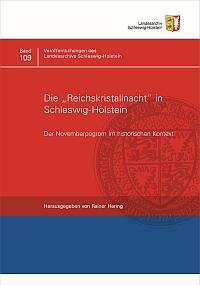 Cover der Veröffentlichung des Landesarchivs zur Pogromnacht in Schleswig-Holstein