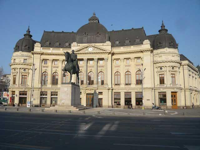 Die Nationalbibliothek von Bukarest
