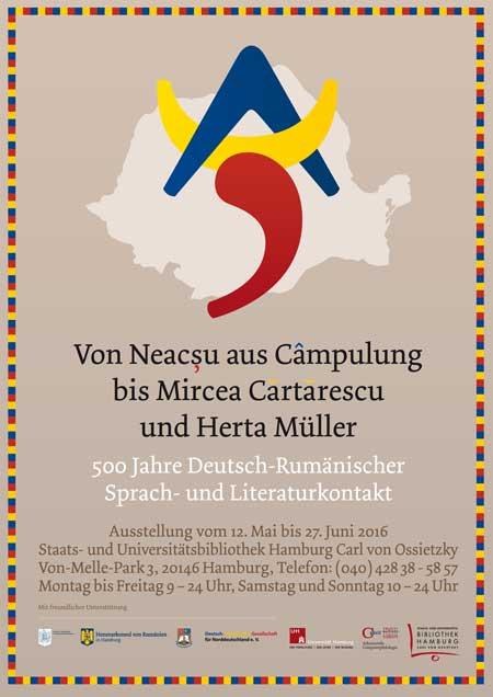 500 Jahre Deutsch-Rumänischer Sprach- und Literaturkontakt (12.5.-27.6.)