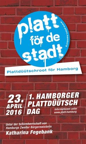 Platt für die Stadt – der erste Plattdeutsch-Tag in Hamburg