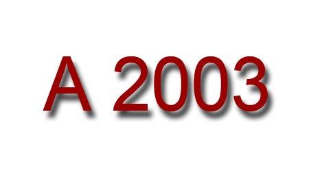 A 2003