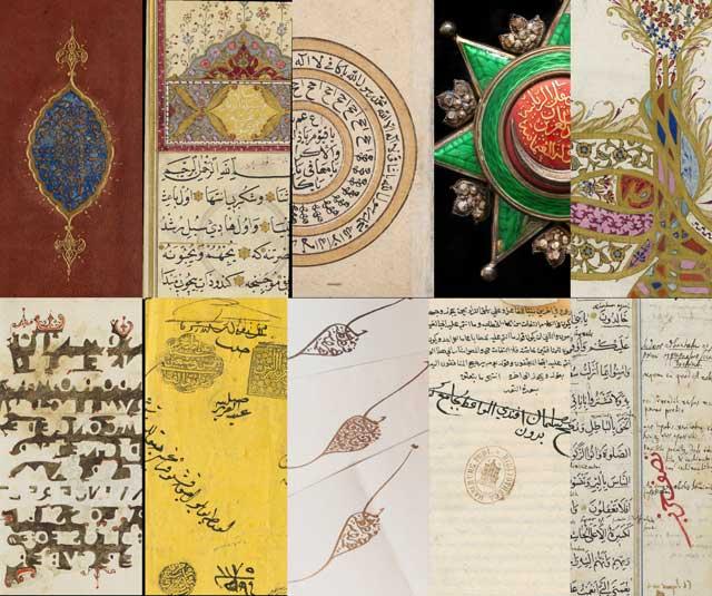 Detailkarten Osmanische Manuskripte