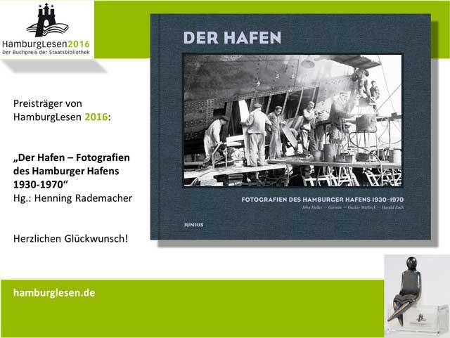 HamburgLesen 2016: Fotoband «Der Hafen»