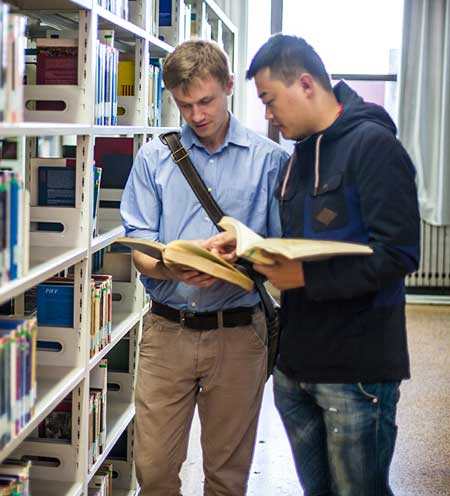 Hamburger Studenten in China