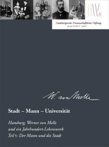 Cover Werner von Melle, Mäzene für Wissenschaft Band 18.1