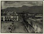 Oaxaca. La Plaza de Armas. Hotel de la Paz. Portal Quiñones. 1875 Nachlass Teobert Maler IAI