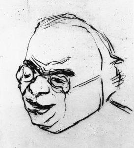 Porträt Erwin Panofskys
