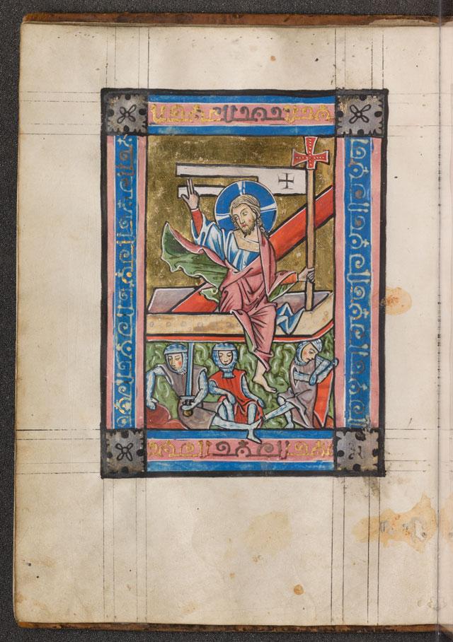Cod. in scrin. 83, fol. 5v: Psalter