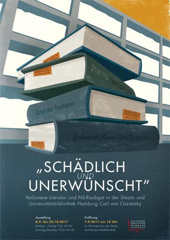 """""""Schädlich und unerwünscht"""" – Verbotene Literatur und NS-Raubgut in der Staats- und Universitätsbibliothek Hamburg Carl von Ossietzky"""