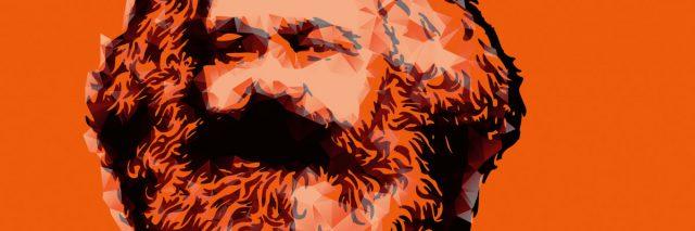 Foto Credit: Conquistador, wikimedia.org, Karl Marx monochromatic
