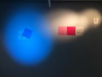 Ausstellung 'Blauer Vogel auf Rot' © Kasia Lewandowska