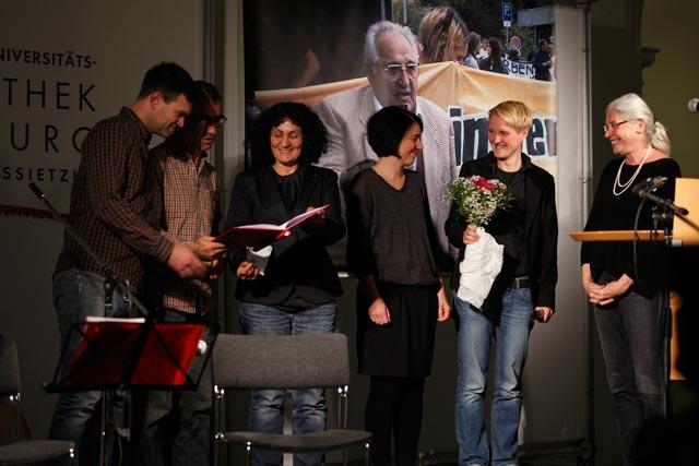 Verleihung des Hans Frankenthal-Preises 2016, © E.M. Urbitsch