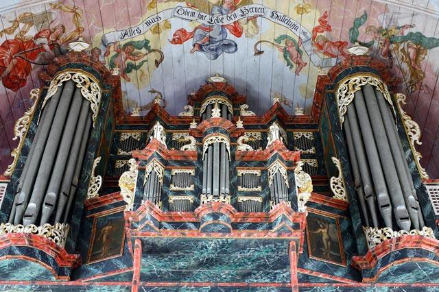 Orgel der Kirche von Hamburg-Neuenfelde