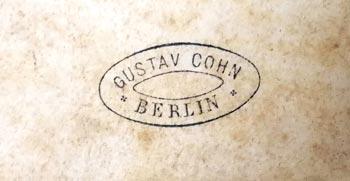Stempel aus Cohns Zeit in Berlin