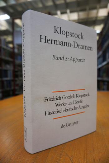42. Band der Hamburger Klopstock-Ausgabe: Apparat der Hermann-Dramen