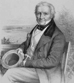Salomon Heine, um 1825