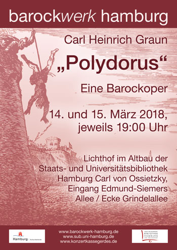 "barockwerk hamburg: ""Polydorus"" (14./15.3.)"