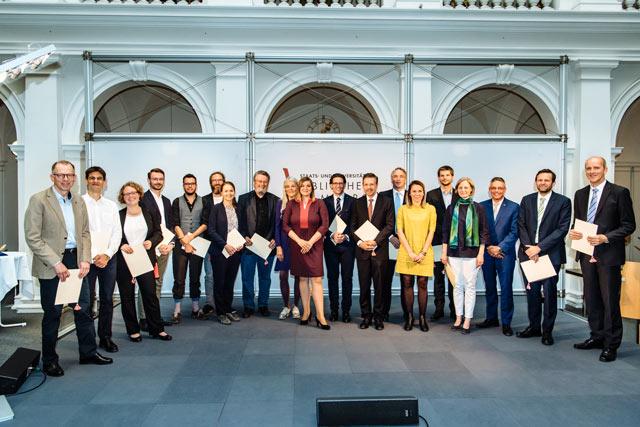 Lehrpreisverleihung 2017. Foto: Asja Caspari