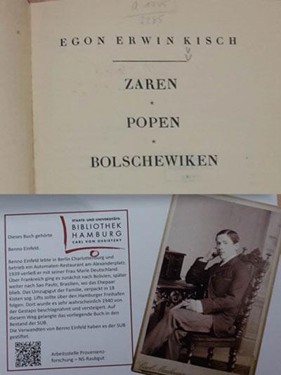 'Zaren – Popen – Bolschewiken' von Egon Erwin Kisch