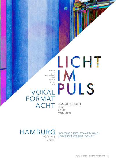 Konzert vokal|format|acht: licht|im|puls