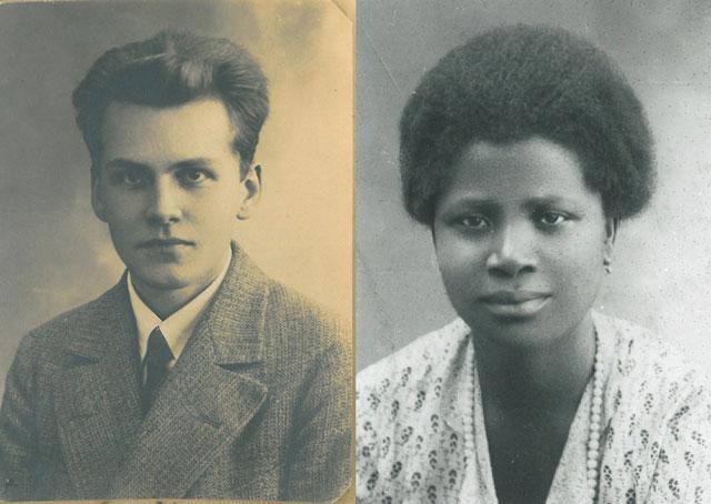 Richard Heydorn und Fatima Massaquoi