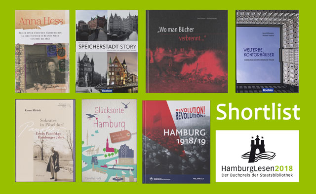 Shortlist HamburgLesen 2018