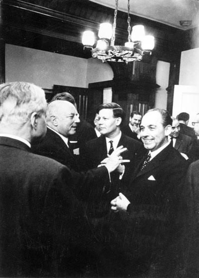 Helmut Schmidt und Kurt A. Körber