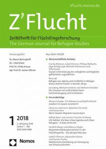 Z'Flucht : Zeitschrift für Flüchtlingsforschung