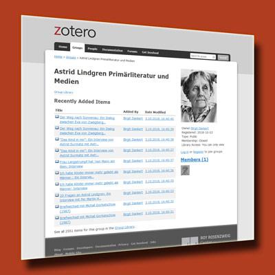 Astrid Lindgren. Primärliteratur und Medien