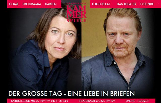 Der große Tag, Hamburger Kammerspiele, 27.1.