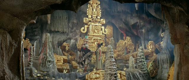 Aufnahme aus dem Film 'Der Schatz der Azteken' (1965)