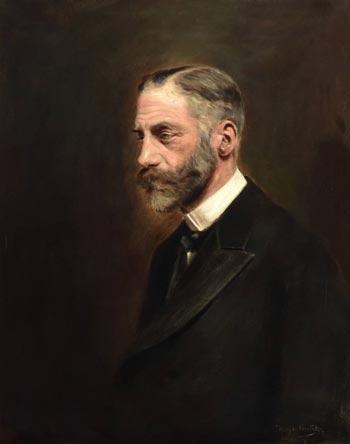Werner von Melle. Gemälde von Henry Ludwig Geertz (1911)