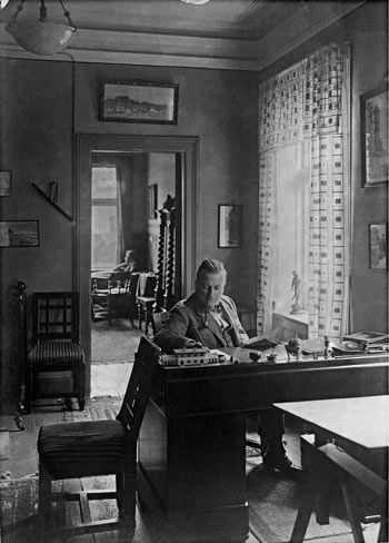 Werner Jakstein zuhause