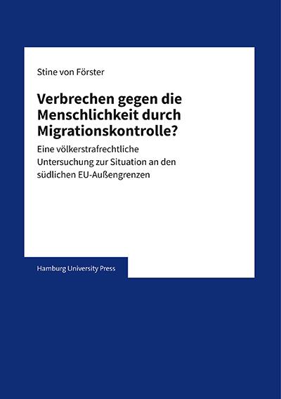 Cover Dissertation Stine von Förster