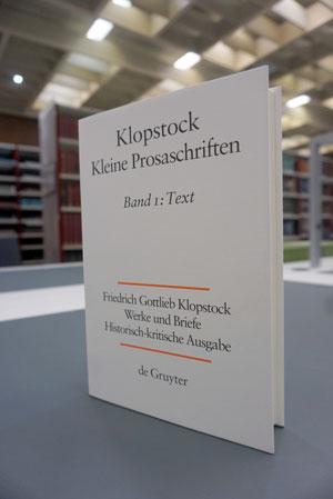 Klopstock – Kleine Prosaschriften