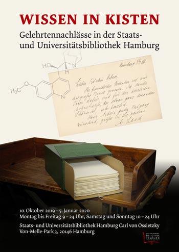 Wissen in Kisten – Gelehrtennachlässe in der Staats- und Universitätsbibliothek Hamburg