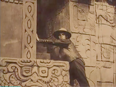 Szene aus «Die Spinnen» von Fritz Lang