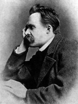 Friedrich Nietzsche. Foto: Gustav Adolf Schultze, 1882