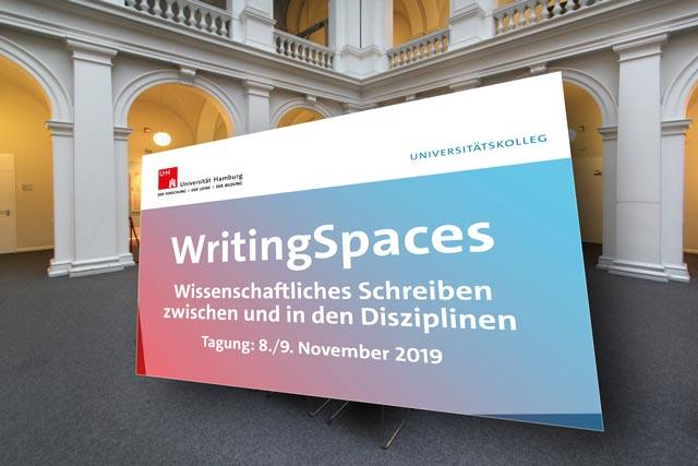 Writing Spaces - Wissenschaftliches Schreiben zwischen und in den Disziplinen (8./9.11.)