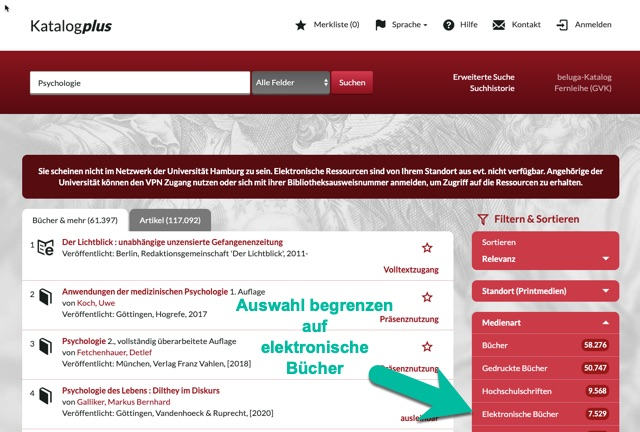 Auswahl auf 'elektronische Bücher' begrenzen