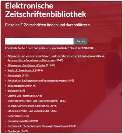 Elektronische Zeitschriftenbibliothek