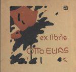 Otto Elias und sein Exlibris