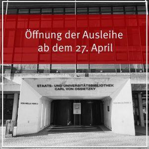 Eingeschränkte Ausleihe in der Stabi ab dem 27.04.2020