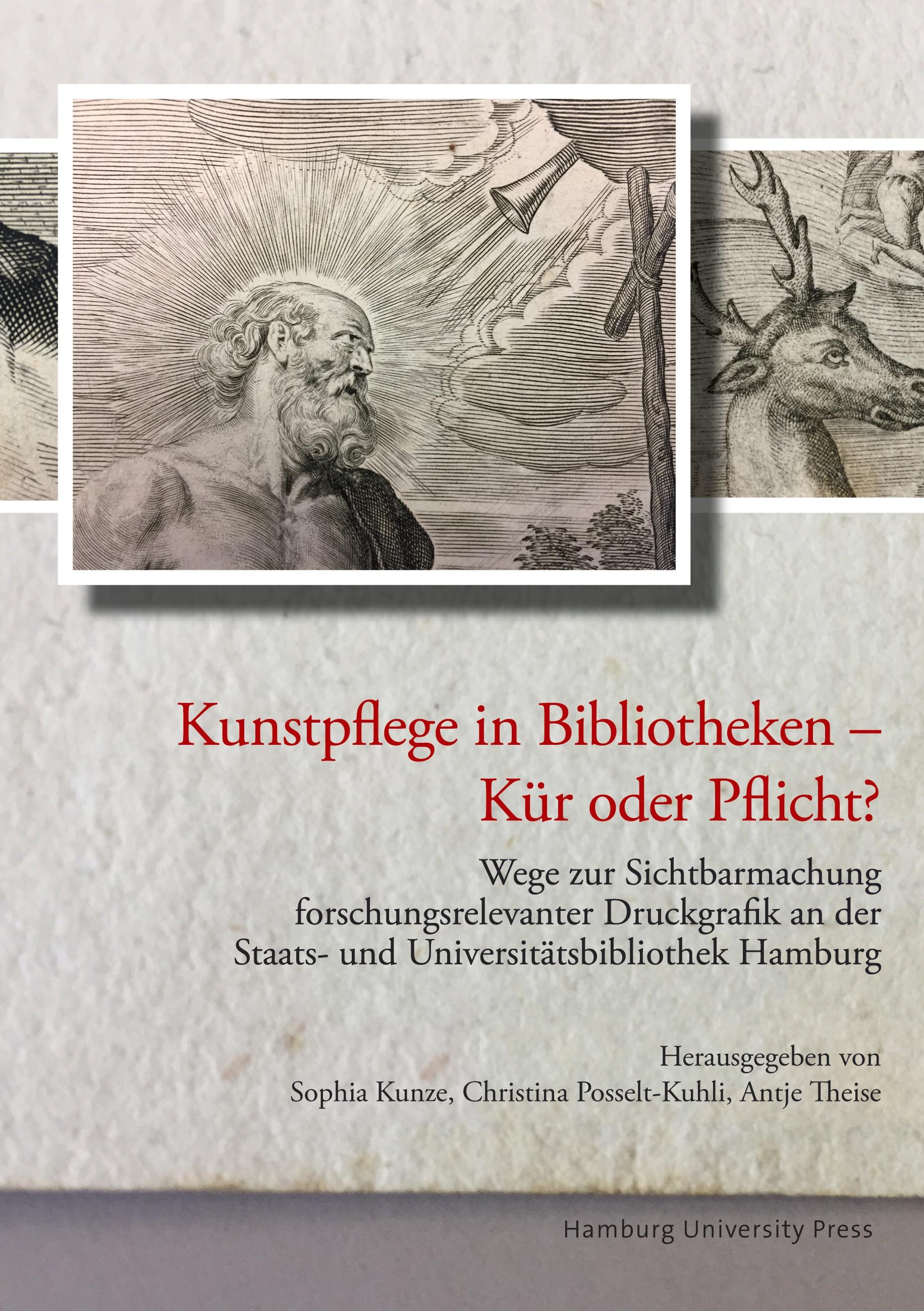 Cover des Buches Kunstpflege in Bibliotheken