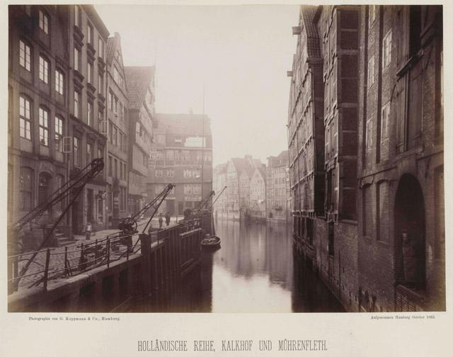 Holländische Reihe, Kalkhof und Mührenfleth